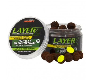 STAR BAITS ПРОТЕИНОВИ ТОПЧЕТА LAYERZ POP UP BLOOMWORM 14mm YELLOW