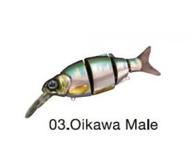 ВОБЛЕР IZUMI SHAD ALIVE DIVER MD 105 SU MD-#06-OIKAWA MALE
