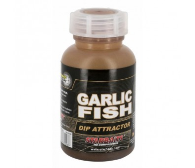 STAR BAITS DIP GARLIC FISH 200 ml.