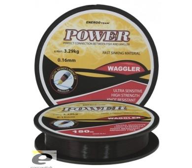 ENERGO TEAM ВЛАКНО POWER WAGGLER 0.16мм. 150м.