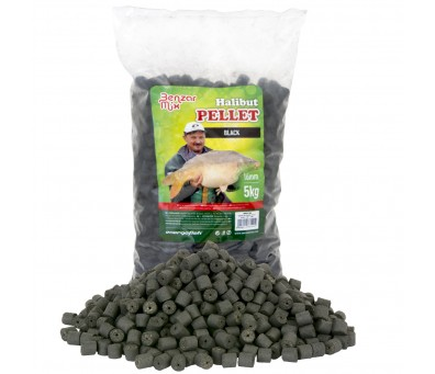 BENZAR MIX ПЕЛЕТИ BLACK HALIBUT PELLET 10мм. 800гр.