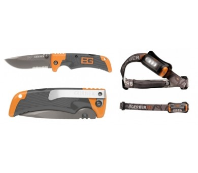 НОЖ GERBER BEAR GRYLLS HANDS FREE TORCH&SCOUT
