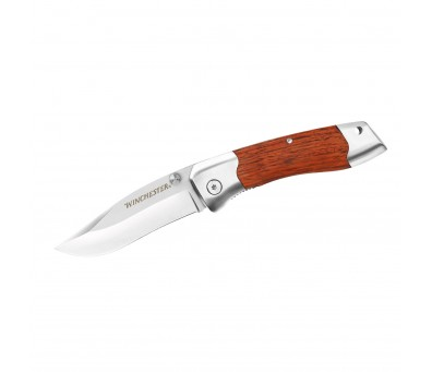 WINCHESTER НОЖ 3.0'' SHAPED WOOD FOLDER FINE EDGE